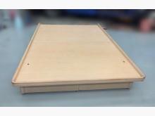 [9成新] B73108*白橡木色掀床*雙人床架無破損有使用痕跡