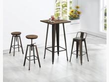 [全新] 時尚傢俱-C全新}手感美式旋轉椅其它桌椅全新