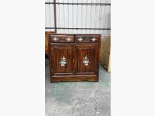 [95成新] 00499-雞翅木鑲貝置物櫃收納櫃近乎全新