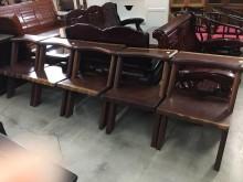 [9成新] 大慶二手家具 實木椅(一張)其它桌椅無破損有使用痕跡