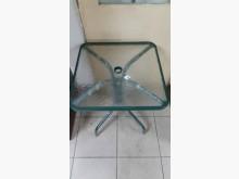 [全新] 庫存貨出清全新四方玻璃戶外桌餐桌椅組全新