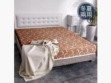 全新-5尺護背冬夏兩用床墊-破盤雙人床墊全新