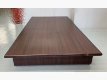 [95成新] 胡桃木加厚單人床底 床箱 宏品雙人床架近乎全新