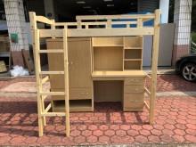 [全新] 全新松木3.5尺多功能兒童高腳床單人床架全新