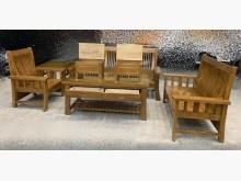[全新] EA823BJD*全新樟木木頭椅木製沙發全新