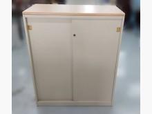 [9成新] C81510*木紋鐵門鐵櫃*辦公櫥櫃無破損有使用痕跡