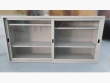 [9成新] C81512*6尺玻璃鐵櫃*辦公櫥櫃無破損有使用痕跡
