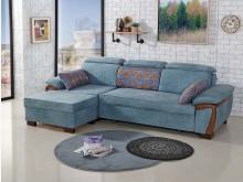 [全新] 依福林L型布沙發$34800L型沙發全新