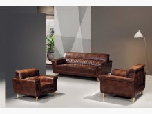 [全新] 班奈特皮製沙發組(1+1+3)多件沙發組全新