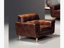 [全新] 班奈特皮製單人沙發單人沙發全新