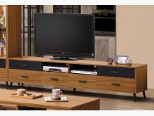 [全新] 雅各 淺柚木色7尺電視櫃電視櫃全新