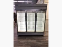吉田二手傢俱❤三門玻璃型冰箱冷藏冰箱無破損有使用痕跡