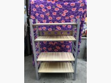 [9成新] 大慶二手家具 鐵製貨架(板子可調收納櫃無破損有使用痕跡