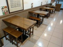 大塊柚木三尺半餐桌(不含椅)餐桌無破損有使用痕跡