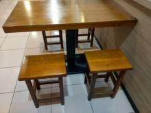 實實在在古早味全實木餐椅 板凳餐椅無破損有使用痕跡