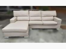 [9成新] A90307*米色布L型沙發*L型沙發無破損有使用痕跡