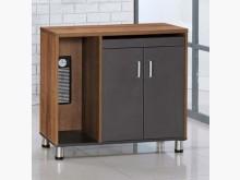 [全新] 柚木雙色側邊櫃$2900辦公櫥櫃全新