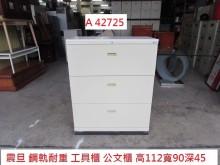 [8成新] A42725 鋼軌 耐重 工具櫃辦公櫥櫃有輕微破損