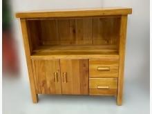 [全新] HM919EH全新桃花心木電器架碗盤櫥櫃全新