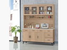 [全新] 喬洛 黃橡木色5.3尺餐櫃碗盤櫥櫃全新