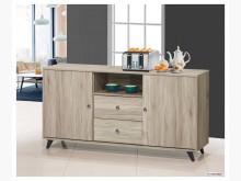 [全新] 吉姆 橡木色5尺餐櫃碗盤櫥櫃全新