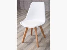[全新] 大慶二手家具 皮製實木腳餐椅餐椅全新