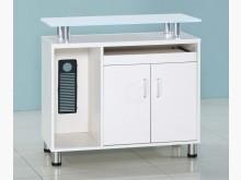 [全新] 強化玻璃側邊櫃 $2900辦公櫥櫃全新
