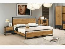 [全新] 2004059-2布朗克斯五尺床雙人床架全新