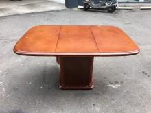 非凡二手家具 實木伸縮蝴蝶餐桌餐桌無破損有使用痕跡