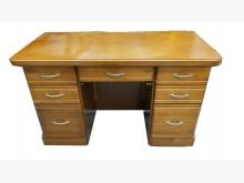 E92514柚木色書桌書桌/椅有輕微破損
