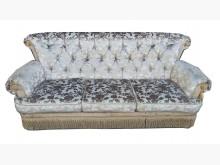 [9成新] A92506*銀色布3人沙發*雙人沙發無破損有使用痕跡
