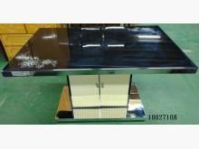 [9成新] 10027108黑色鏡面餐桌餐桌無破損有使用痕跡