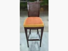 [8成新] F92609*胡桃高腳椅*其它桌椅有輕微破損
