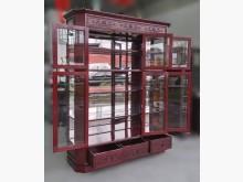 [9成新] RW92701*紅木展示櫃收納櫃無破損有使用痕跡