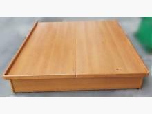 B101902*原木色5尺掀床雙人床架無破損有使用痕跡