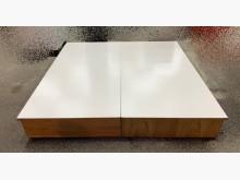 [95成新] 白色木心板雙人加大床底 床架雙人床架近乎全新
