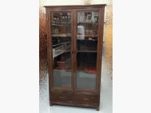 [95成新] 高級花梨木書櫃 原木實木書架書櫃/書架近乎全新