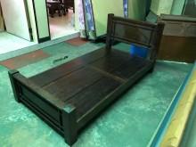 00843-單人組合床單人床架無破損有使用痕跡