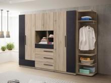 [全新] 慕尼黑9尺組合衣櫃衣櫃/衣櫥全新