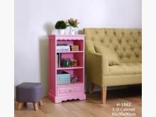 安琪粉紅色單抽置物櫃 桃園區免運書櫃/書架全新
