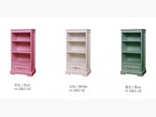 [全新] 安琪藍色單抽置物櫃 桃園區免運費書櫃/書架全新