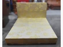 B102511*金色5尺床組雙人床架無破損有使用痕跡