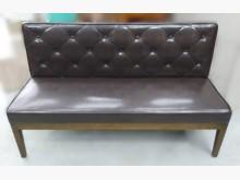 [9成新] A102823*兩人皮沙發雙人沙發無破損有使用痕跡