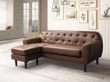 [全新] 露西L型皮沙發L型沙發全新
