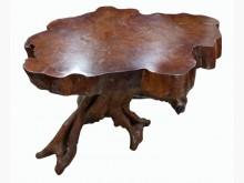 LG103016*原木泡茶桌其它家具無破損有使用痕跡