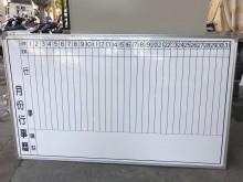 大慶二手家具 行事曆白板其它無破損有使用痕跡