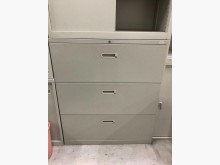 [9成新] 大慶二手家具 三尺三抽式公文櫃辦公櫥櫃無破損有使用痕跡
