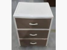 [9成新] A102904*三抽塑膠櫃收納櫃無破損有使用痕跡
