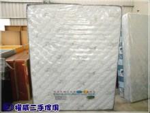 [全新] 權威二手傢俱/蜂巢式獨立筒床墊雙人床墊全新