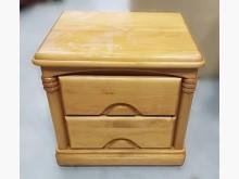 [9成新] B110804*原木色床邊櫃床頭櫃無破損有使用痕跡